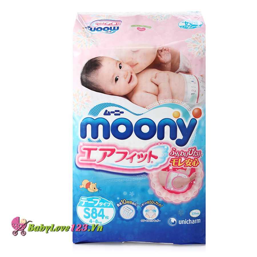 Tã dán Moony S84