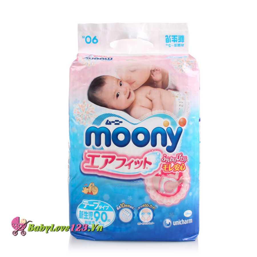 Tã dán Moony SS90