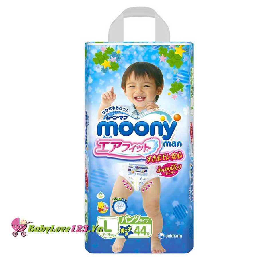 Tã quần Moony L44-Trai