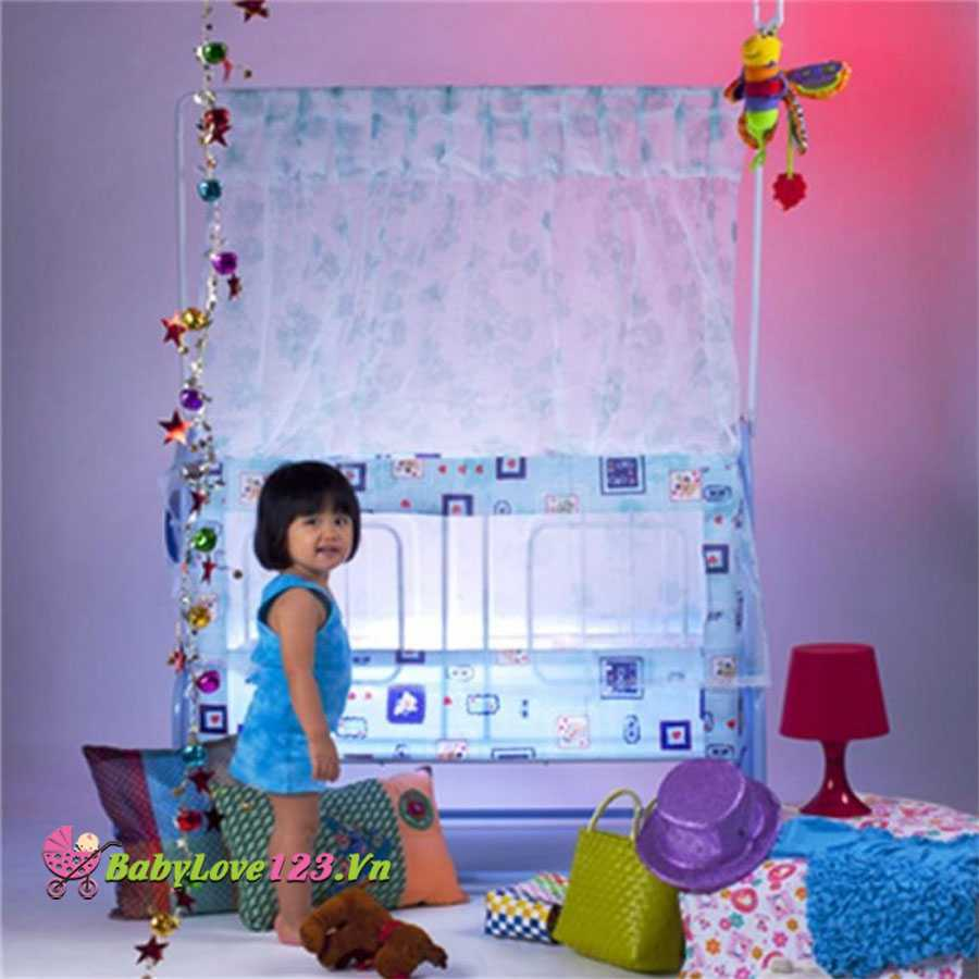 Nôi trẻ em Giường Đại 2 tầng tự động GĐ32