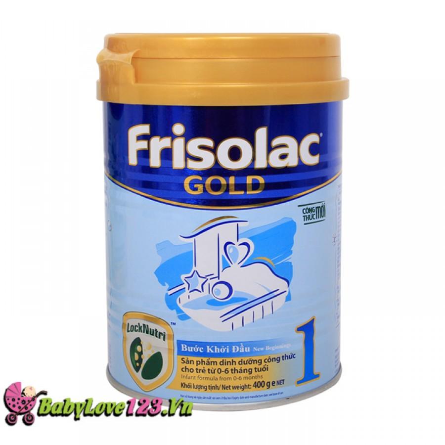 Sữa Frisolac Gold số 1 400g cho trẻ 0 - 6 tháng