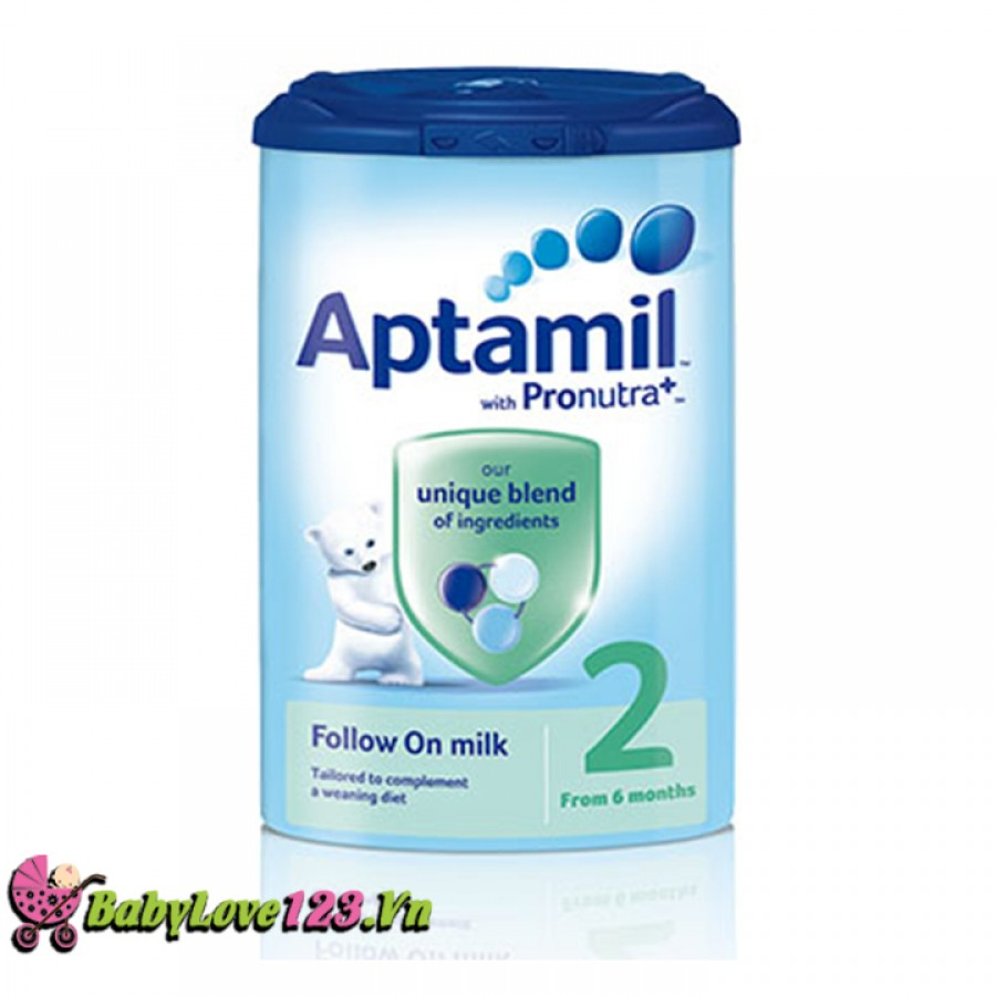 Sữa Aptamil Anh số 2 900g cho trẻ 6 - 12 tháng