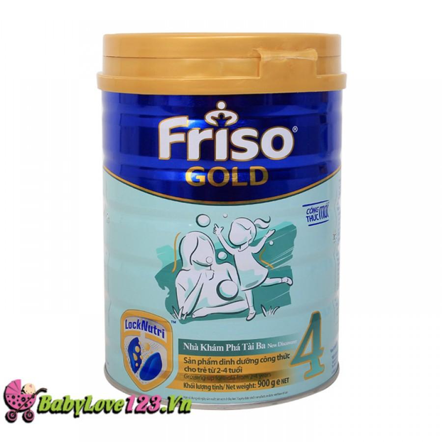Sữa Frisolac Gold số 4 900g cho trẻ từ 2 tuổi
