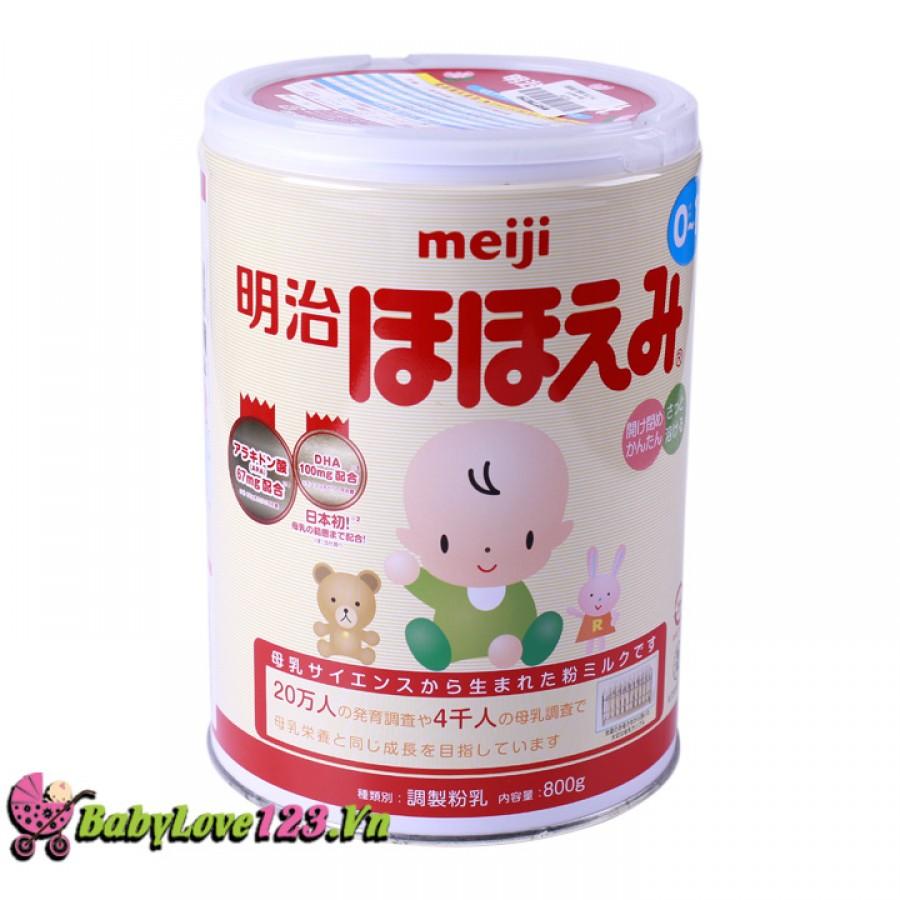 Sữa Meiji số 0  800g cho trẻ từ 0 - 12 tháng