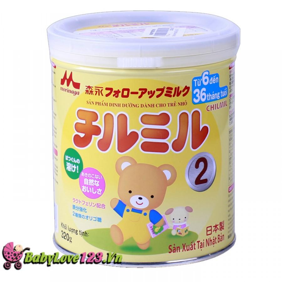 Sữa Morinaga 320g số2 cho trẻ từ 6 - 36 tháng tuổi