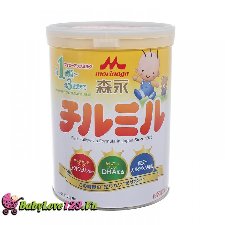 Sữa Morinaga 820g số 9 cho trẻ từ 1 - 3 tuổi