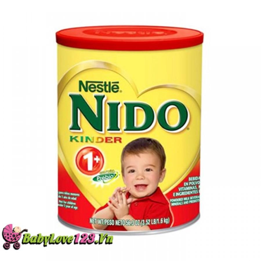Sữa Nido nắp đỏ (1,6kg) cho trẻ từ 1 tuổi ?(chống táo bón)