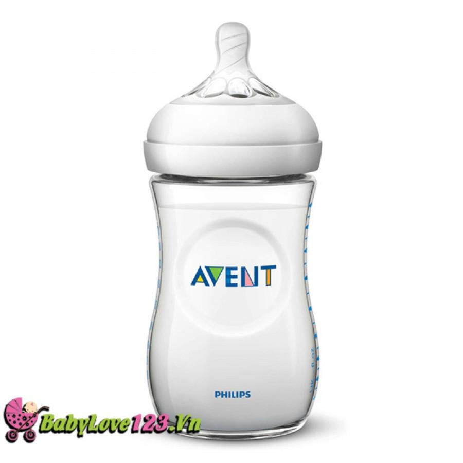 Bình sữa Philip Avent 260ml SCF693.13 (Bình đơn)