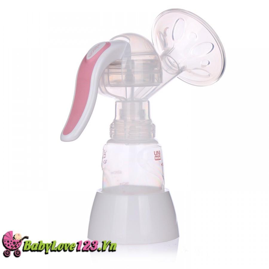 Máy hút sữa bằng tay an toàn Unimom Hàn Quốc kiểu dáng đẹp
