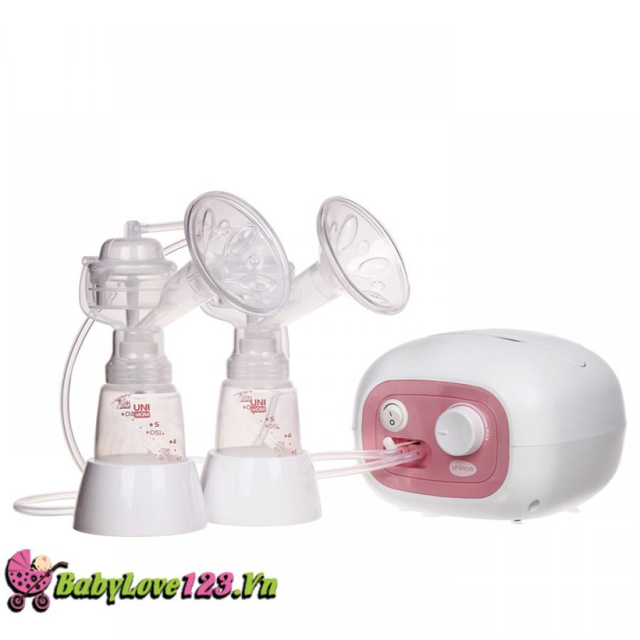 Máy hút sữa đôi bằng điện Unimom Forte