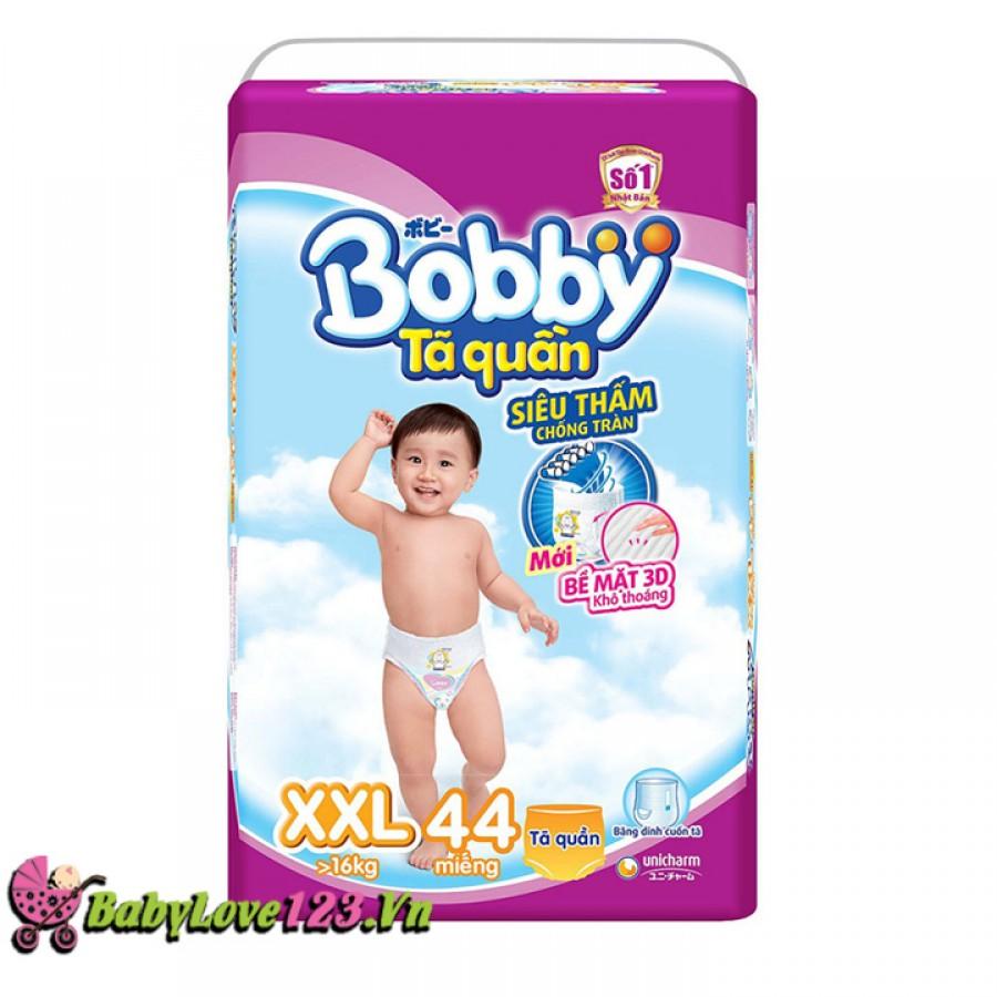 Tã quần Bobby size XXL 44 miếng cho bé trên 16 kg