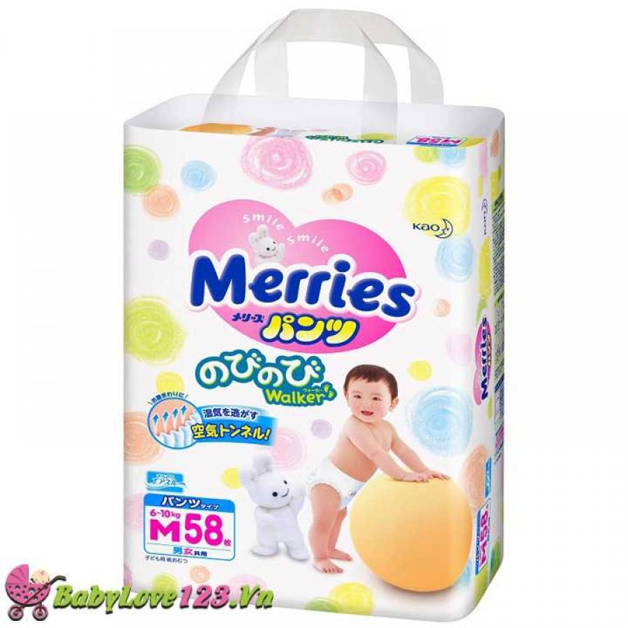 Tã quần Merries M58