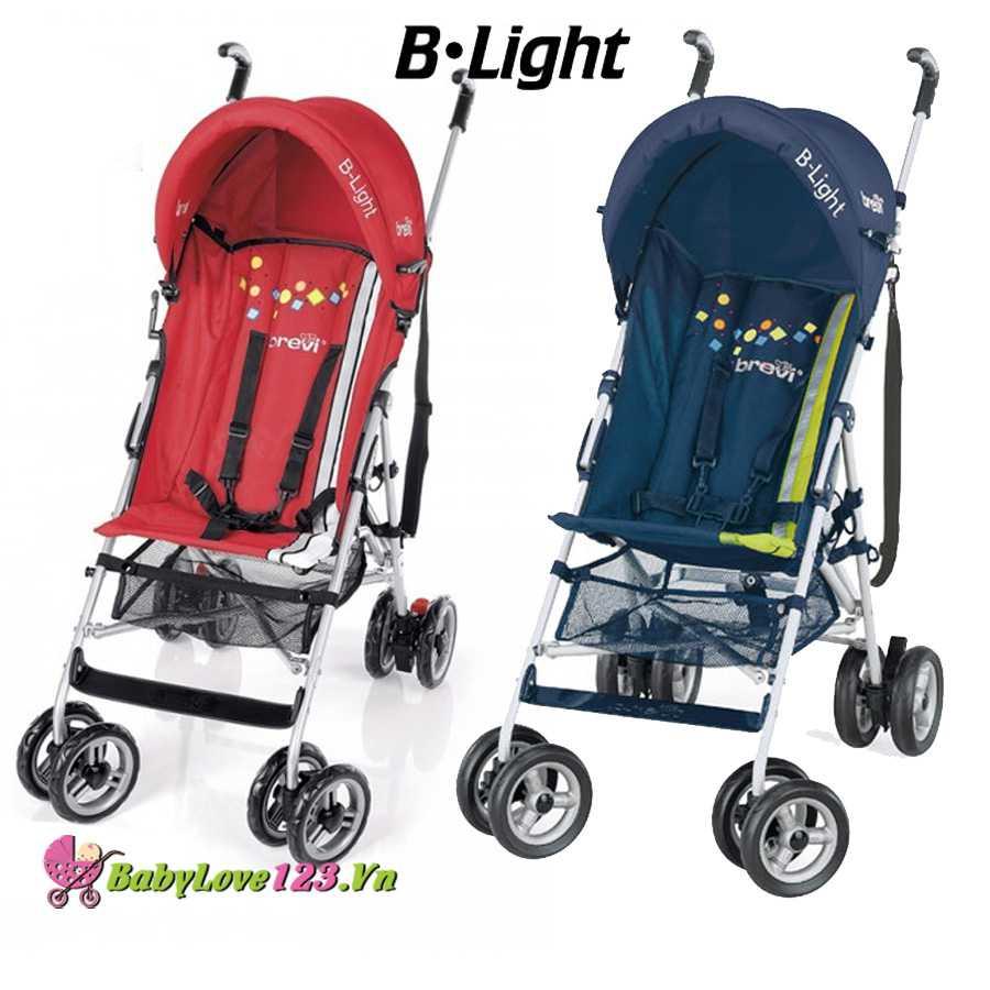 Xe đẩy trẻ em cao cấp B-light Brevi